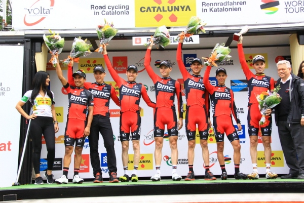 BMC squadra vincitrice classifica a squadre (Foto JC Faucher)