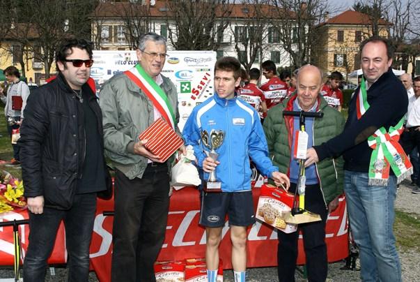Premiazione Stefano Santa della Bareggese, 3^ classificato (Foto Berry)
