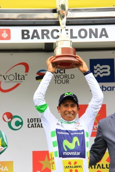 Nairo Quintana vincitore del 96^ Giro della Catalogna (Foto JC Faucher)