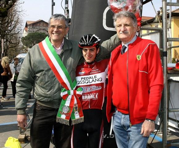 Rubino col Sindaco e Cav. Silvio Pezzotta (Foto Berry)
