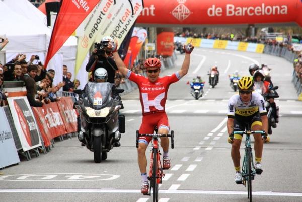 Tcatevich Aleksei vincitore tappa Barcelona (Foto JC Faucher)