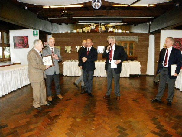 Francesco Prina, premiato dal GS Jerago (Foto Nastasi)