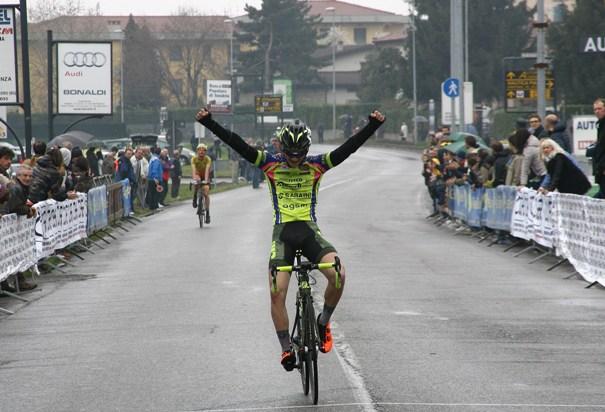 Samuele Carpene vince ad Albano Sant'Alessandro (Foto Berry)