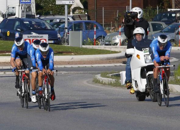 Gazprom vincitori cronosquadre (Bettini)