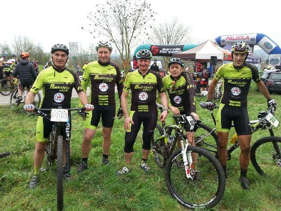 Corridori Team Battistella