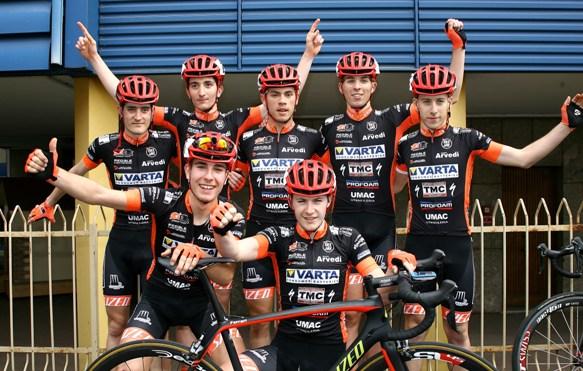 La squadra del vincitore (Foto Berry)
