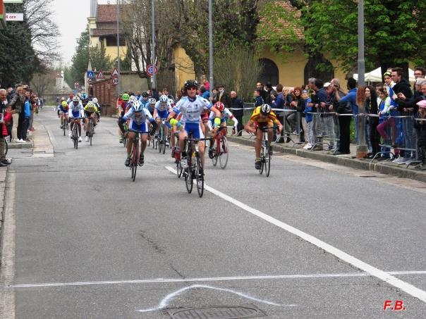 Luca Portigliatti vince gara esordienti 2^ anno (Foto Gio.More)