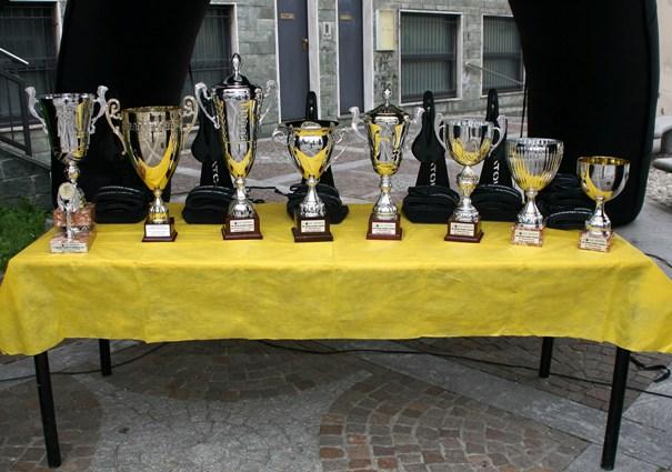 I Premi della gara (Foto Berry)
