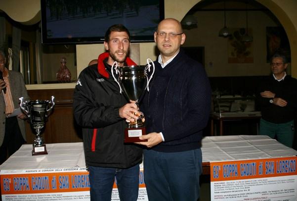 Premiazione Direttore Sportivo del vincitore (Foto Berry)