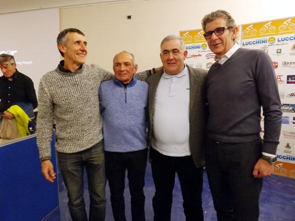 Armanini con Piva Roverselli e Gialdini (Foto di Paolo Biondo)