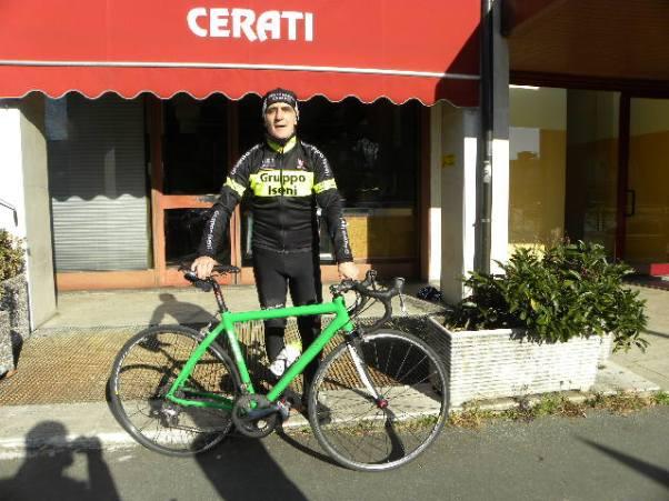 Cassano Magnago-Febbraio 2016 : Mario Lanzafame in una giornata di allenamento (Foto Nastasi)