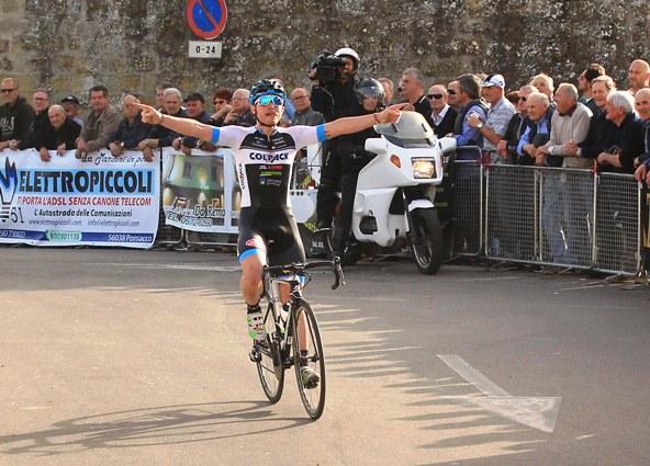 Simone Consonni vince il 40* Trofeo Mario Zanchi (Rodella)