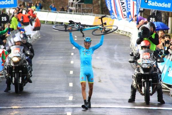 Diego Rosa vince ad Arrate (Foto Jean Claude Faucher)