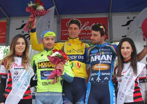 Da sx, Albanese, Natali e Onesti (Foto Pessenti)