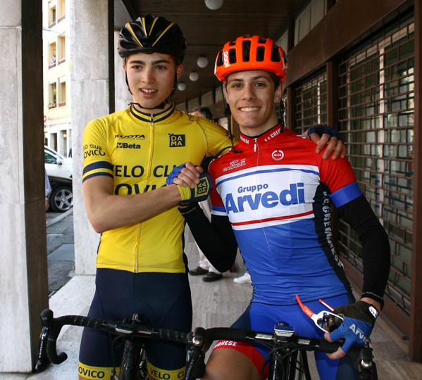Marco Vergani a sx e Diego Bosini rispettivamente campione provinciale e vincitore gara (Foto Berry)