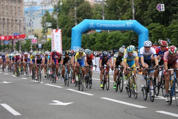 Percorso della gara di Kiev (Ukraina)