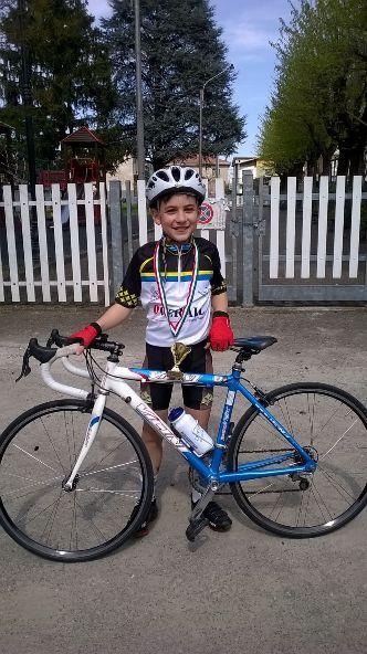 Mattia Bauce - Giovanissimo del Team Overall