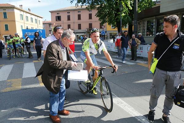 Bernardi intervista Vincenzo Albanese a Collecchio (Foto di Antonio Pisoni)