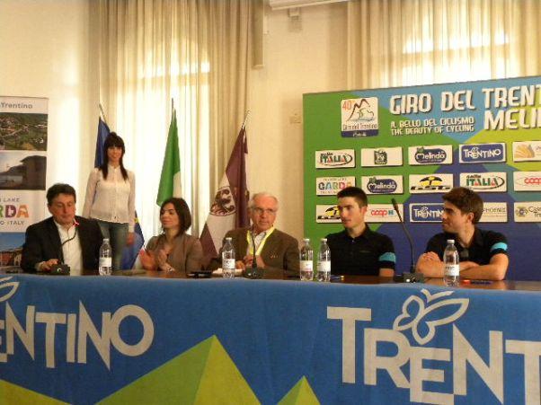 da sx, Marco Benedetti, Ass. M. Luisa Tavernini, Giacomo Santini, Moscon, Landa Meana