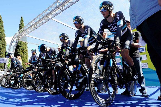 1° tappa Crono Squadre Riva del Garda - Torbole 12,10 KM Team Sky