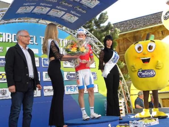 Nicola Gaffurini vince TV di Bolzano e conquista la Maglia Rossa