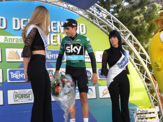 Maglia Verde Mikel Landa Meana leader classifica GPM