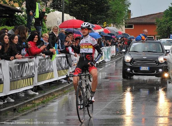 La vittoria di Tiberi a Montecarlo di Lucca (Foto Possenti)