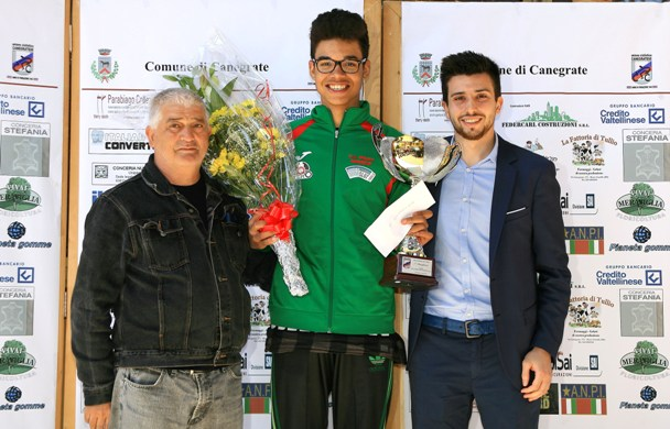 Premiazione di Novba (Foto Berry)