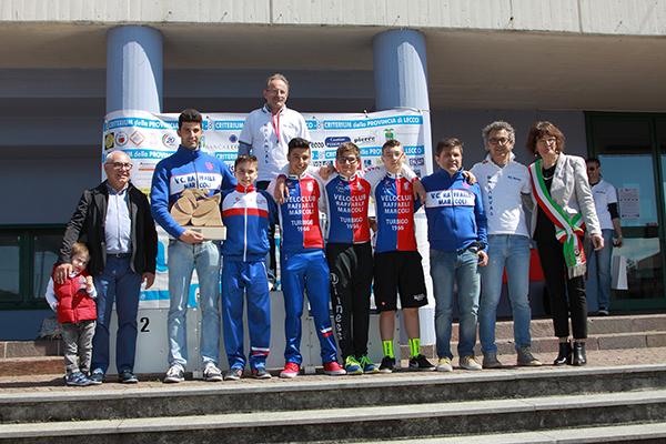 Premiazione VC Marcoli (Foto Kia Castelli)