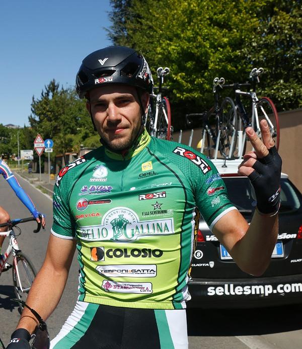 De Mori indica 2 come le sue vittorie in questa stagione (Foto Pisoni)