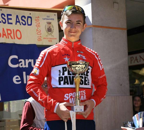 Premiazione Fabio Florian 3^ classificato (Foto Berry)