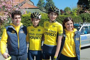 VC Sovico dopo l'arrivo (Foto Kia Castelli)