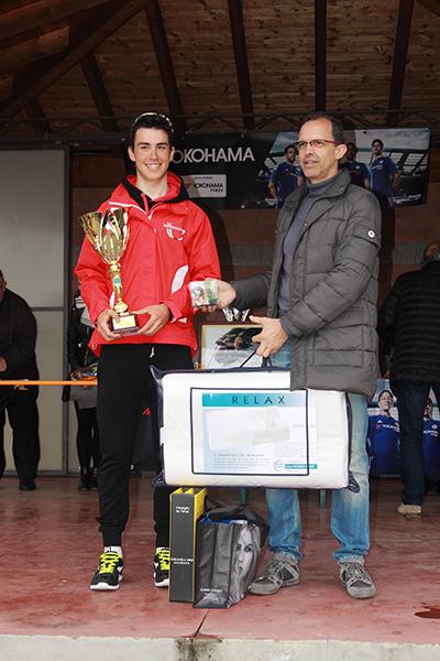 Premiazione di Bornengo (Bustese Olonia Verbania) 3* classificato (Foto Kia Castelli)
