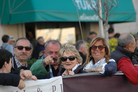 da sx Vainer Franzoni, Cav. Zama, sigra Vanna e sigra Gianna Vigili (Foto Ballardini)