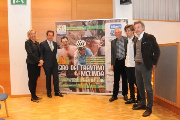 Presentazione Giro del Trentino 2016