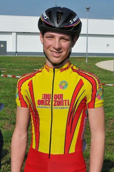 Manuel Orioli vincitore gara 1* anno. (Foto Mambretti)