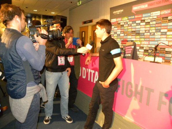 Landa Meana intervista (Foto Nastasi)
