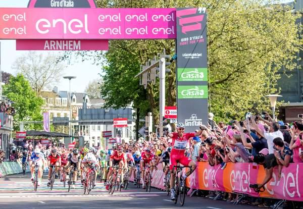 Marcel Kittel vince 3^ tappa Olanda (Foto Ansa)