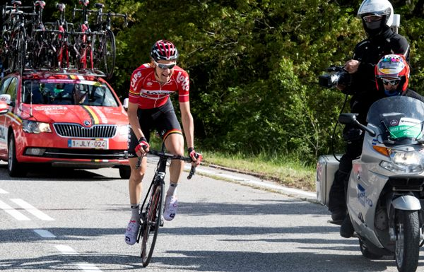 Giro d'Italia 2016: The 6th Stage-Tim Wellens (@ansa)