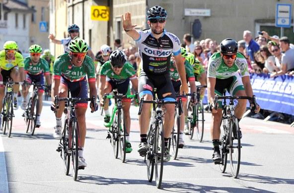Riccardo Minali, 5^ vittoria a Sesto Cremonese (Foto Rodella)