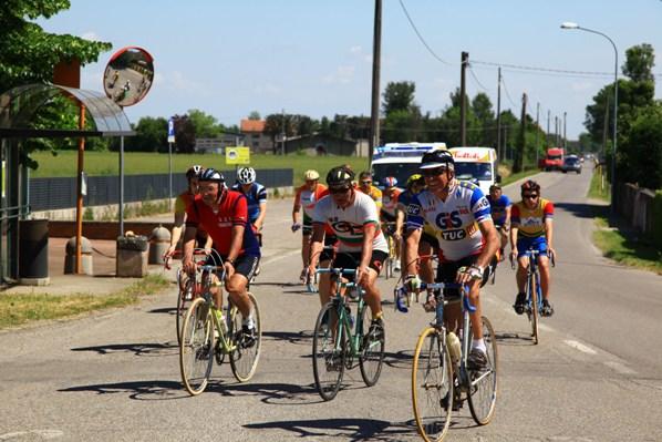 alcuni Atleti impegnati sul percorso