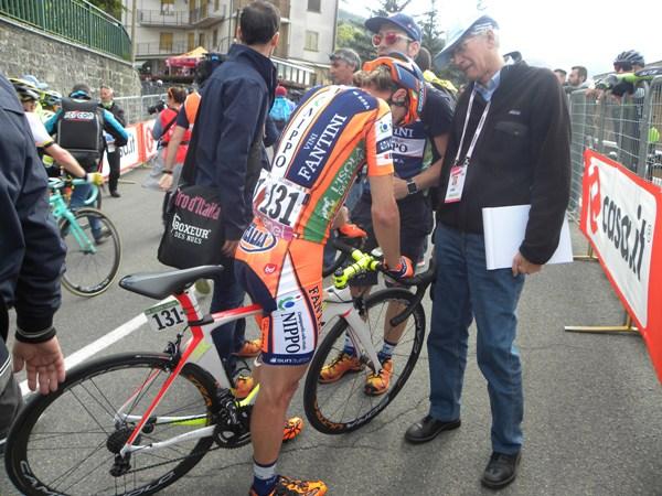 Damiano Cunego 5^ classificato a Sestola (Foto Nastasi)