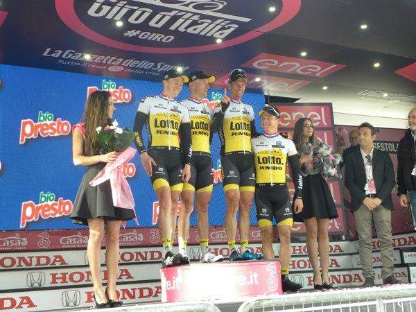 Lotto NL Jumbo (Foto Nastasi)