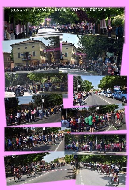 FOTOCOMPOSIZIONE DI ARMANDEN (Passaggio Giro d'Italia da Nonantola)