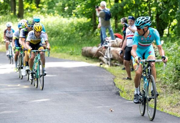 Giro d'Italia 2016: 13th stage-Nibali in azione (Ansa)
