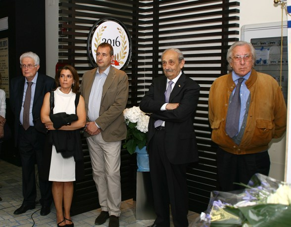 Intervenuti all'inaugurazione (Berry)