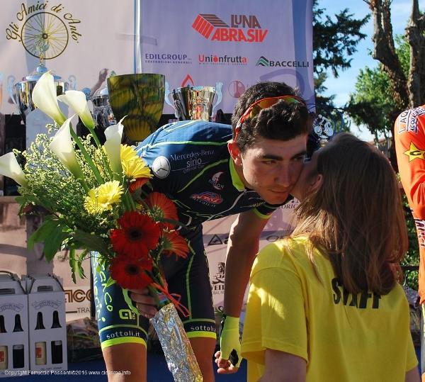Mattia Bevilacqua vincitore gara Luni Juniores (Foto Ferruccio Possenti)