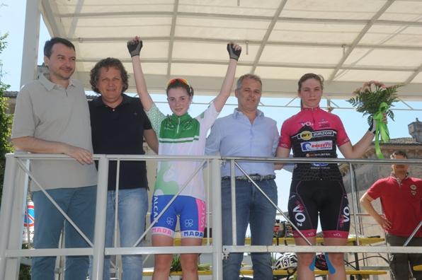 Gaia Masetti neo campionessa regionale lombarda Donne Allieve (Foto Rodella)