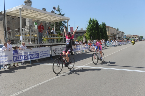 La vittoria di Giorgia Natali donne allieve a Gazoldo degli Ippoliti (Rodella)