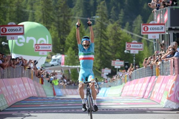 Nibali vince a Risoul (Ansa)
